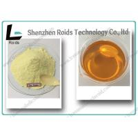 Light Yellow Powder Tren Anabolic Steroid Methyltrenbolone For Muscle Gain Manufactures