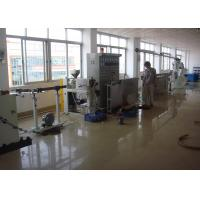 Dia 40mm-100mm Cable Extruder Machine With Mainframe / Main Control Cabinet Manufactures