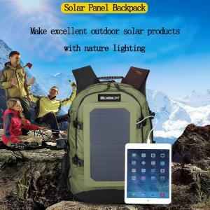 Sunpower Folding Portable Solar Pack 19V / 12V / 5V USB Output For Electronic Equipment Manufactures