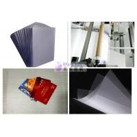 China One Side Glue Coating PETG Plastic Sheet High Temperature Resistance on sale