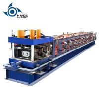 Automatic Touch Screen CZ Purlin Roll Forming Machine For Galvanized Metal Steel Sheet Manufactures
