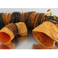 Customized Stretchable Fireproof Flexible Duct PVC Environmental Friendly Manufactures