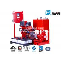 End Suction Centrifugal Diesel Engine Driven Fire Pump With 44kw Max Shaft Power Manufactures
