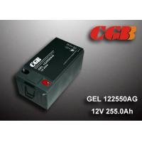 GEL - AG Seies Solar Wind System ABS Platic Battery GEL122550AG 12V 255AH Manufactures
