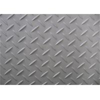 Silver Surface Checkered Steel Plate, Hot Rolled Diamond Plate Flooring Manufactures