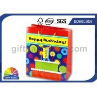 Glossy Laminated Gift Wrapping Paper Bags for Birthday Cake Gifts Packaging Manufactures
