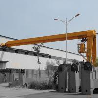 Steel Motorized Gantry Crane 16T Heavy Duty Type Ground Cabin Operation Manufactures