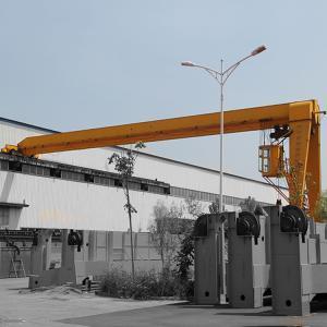 China Steel Motorized Gantry Crane 16T Heavy Duty Type Ground Cabin Operation on sale