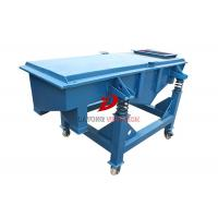 Industrial Linear Vibrating Screen Machine , Dry Sand Screening Equipment Manufactures