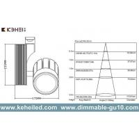 30W high power LED Track Lights 2/3/4 line Cree XP-E chips 15-60 Degree beam angle Manufactures