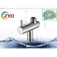 Stainless Steel Shower Head Diverter Valve Silver Nickle Plating Finish Manufactures
