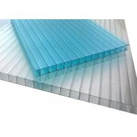 Quality Opal Polycarbonate Hollow Sheet Waterproof Plastic Ceiling Panel for sale
