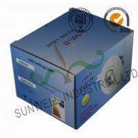 Electronic LED Ceiling Light Bulb Packaging Boxes , Consumer Electronics Packaging Manufactures