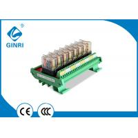 10A Optocoupler Isolated Relay Module PLC Relay Module Omron 8 Channel 5V 12V 24V Manufactures
