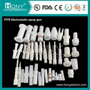 China PTFE Electrostatic-Spray-Gun-Plastic-PTFE-4F Parts on sale