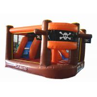 Inflatable pirate themed mini jump gray colour inflatable pirate topic painting bouncer for sale Manufactures