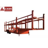 Double Layer Car Carrier Trailer Simple Structure Large Loading Space Double Axle Manufactures