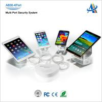Secured display solutions for your retail mobile phones shops A800-4port Manufactures