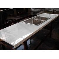 Montary Nano Glass Kitchen Island Countertops Cabinet White Color Manufactures
