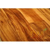 Quality Wholesale smooth solid acacia solid wood flooring for sale