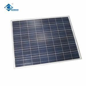 China PolycrystallineSolar Photovoltaic Panel ZW-40W solar panel photovoltaic for battery charge on sale