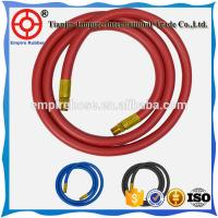 ISO ceritified 50mm oil resistant synthetic textile braided red  petrol station rubber hose Manufactures
