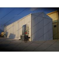 6 x 24m Waterproof Industrial Storage Tents White PVC Cover For Workshop Use Manufactures