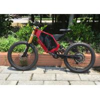 Quality Flexible Off Road Electric Mountain Bikes High Speed With Brushless Motor for sale