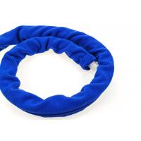 Washable Soft Fabric CPAP Headgear Straps No Skin Irritation Blue Color Manufactures