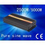 CE&ROHS approved/ 12V/24/48V pure sine wave 2500w power inverter Manufactures