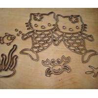 sticker mass production die cut mold CNC router machine Manufactures