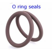 ORK Metric O - Ring Seals For Automobile , High Temperature O Rings IIR 70 Manufactures