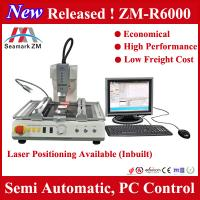 China Zhuomao ZM-R6000 automatic bga rework station for lead solder bga soldering station on sale