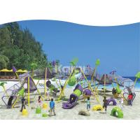 China New Children fitness outdoor playground  climbing net KQ60124A park/ Square using on sale