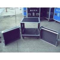 Aluminum Frame Rack Flight Case 18U 9mm Plywood With 1 Mm Fireproof Wood Manufactures