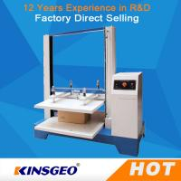 550kg Computer Package Testing Equipment , Automatic Carton Compression Tester with One Year Warranty Manufactures
