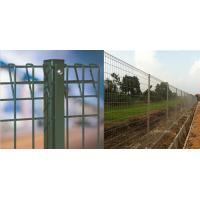 Roll Top BRC Welded Wire Mesh Fence Panels Galvanized / Powder Coated