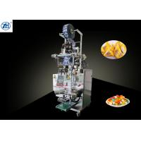Vertical Triangle Shaped Bag Snack Packaging Machine With Laminated Film Packing Material Manufactures