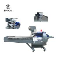 Multi Functional Flow Chocolate Packing Machine / Candy Bar Wrapping Machine 350SF Manufactures