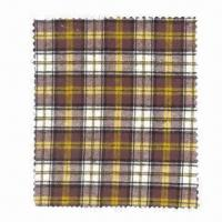 100% cotton yarn-dyed flannel, 176gsm Manufactures