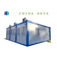 Large Capacity Container Living Quarters Dormitory Designed For Workers Fireproof Manufactures