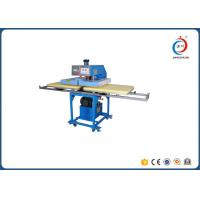 Hydraulic Sublimation Heat Press Machine Aluminum Double Working Position Manufactures