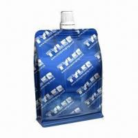 Spout Bag for Liquid, Water, Beverage, Juice and Drink, Various Colors and Designs Available Manufactures