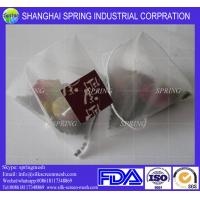 Empty PET mesh tea bag for sale/filter bags Manufactures