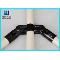 Durable Black Metal Pipe Joints 360 Degree Rotating Angle Pipe Connectors HJ-12 Manufactures