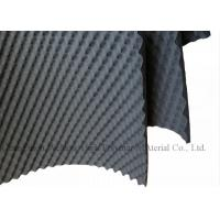Waterproof Wavy Shaped Sound Absorption Panels Rubber Foam For Car 15mm Thickness Manufactures