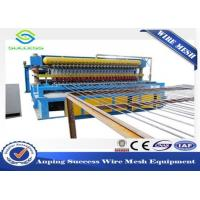 Multi Function Wire Mesh Equipment , Reinforcing Bar Wire Mesh Weaving Machine Manufactures
