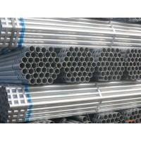 Quality Large Diameter Round Galvanized Steel Pipe For Structural And Coupler Scaffolding for sale