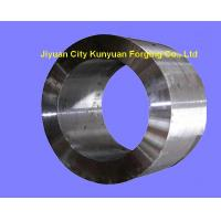 Petroleum Machine Parts Forged Steel Rings , High Carbon Steel Ring Rolled Forging OD 200 - 1200 mm Manufactures