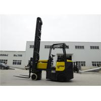 China Narrow aisle articulated 2 ton electric Forklift truck with 7m lifting height on sale